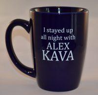 Alex Kava   Stranded Coffee Mug