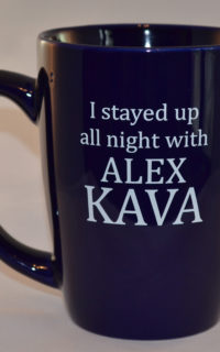 Alex Kava | Stranded Coffee Mug