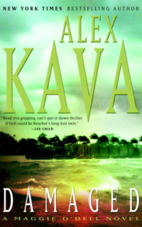 DAMAGED | Alex Kava Books | Autographed hardcover copy