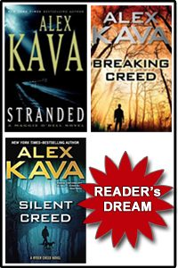Alex Kava's Ryder Creed series bundle with FREE SHIPPING