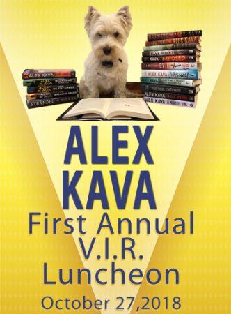 Alex Kava's FIRST Annual VIR Luncheon 2018