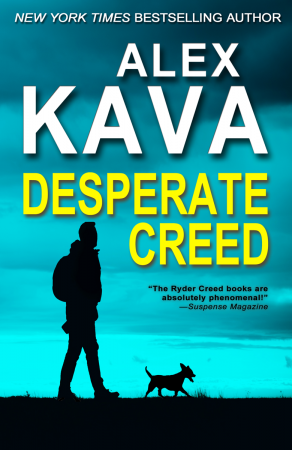 DESPERATE CREED (Book 5 Ryder Creed K-9 series) | Alex Kava