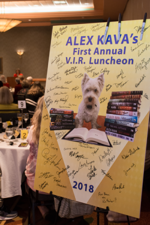 2018 Alex Kava VIR Club Luncheon | Ryder Creed K-9 Mystery series | FBI Maggie O'Dell