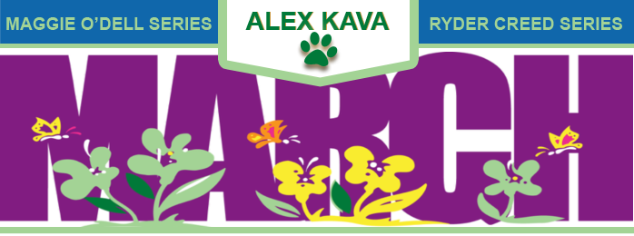 WELCOME March from Author Alex Kava | Ryder Creed K-9 Mystery sries