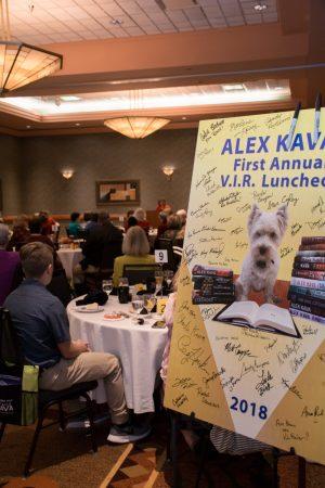 2018 Alex Kava VIR Club Luncheon