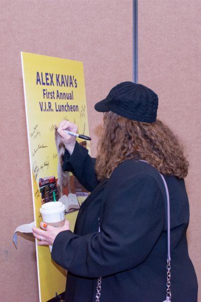 2018 Alex Kava VIR Luncheon