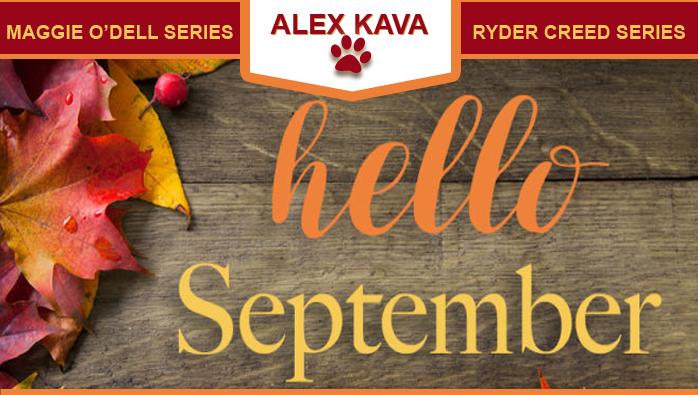 September 2019 Alex Kava VIR Club eBlast
