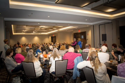 150 people from fourteen states. Alex Kava's 2nd VIR CLUB Luncheon