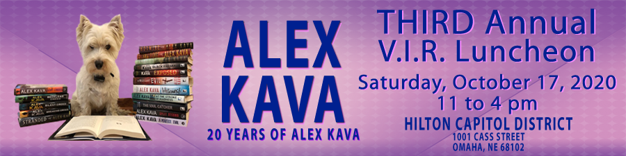 Alex Kava's Very Important Readers Club Annual Luncheon