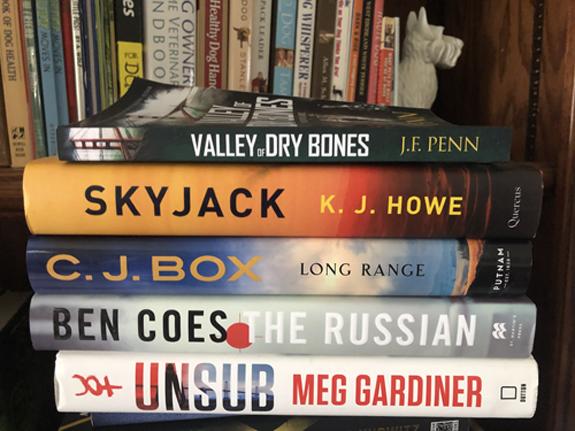 Alex Kava's March 2020 Reading Pile