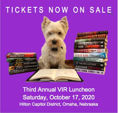 Alex Kava's 2020 Third Annual VIR Luncheon