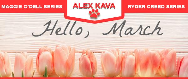 March 2020 Alex Kava VIR Club eBlast